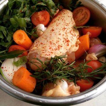 Kyckling till buljong