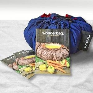 Wonderbag och den kokbok jag tagit fram tillsammans med Wonderbag Sweden...