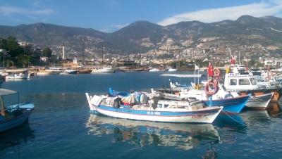 Turkisk fiskebåt