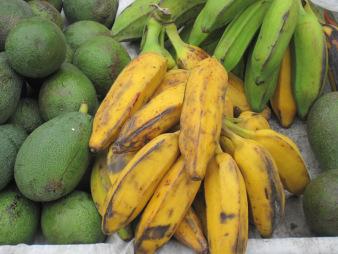 Alanyabananer och avocado...