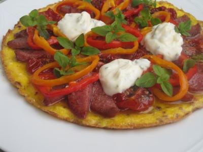 Pizza LCHF Paleo