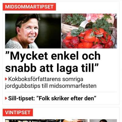 Birgitta Höglund i Aftonbladet