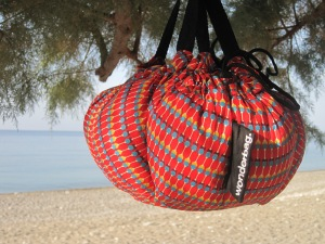 Wonderbag på stranden