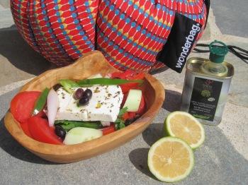 Grekisk sallad i Wonderbag