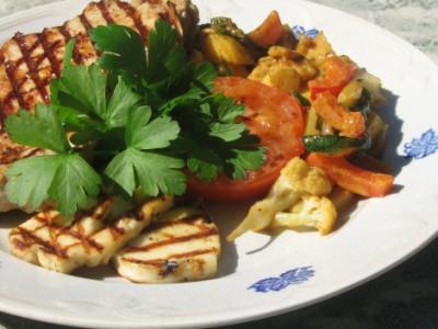 Currywok till grillat
