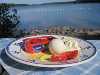 Makrill och ägg till frukost