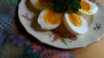 Ägg från Gallina Ovum med servett från AllMyTesign.se