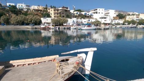 Fiskehamnen i Makrigialos...