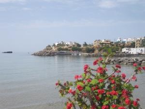 Hamnen i Makrigialos