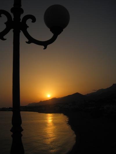 Kvällssol över Makrigialos...