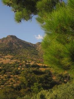 Aspros Potamos-dalen i Makrigialos...