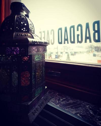 Bagdad Café på Medelhavsmuséet...