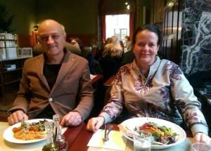 Hakan och Anneli, Wonderbag Sweden...