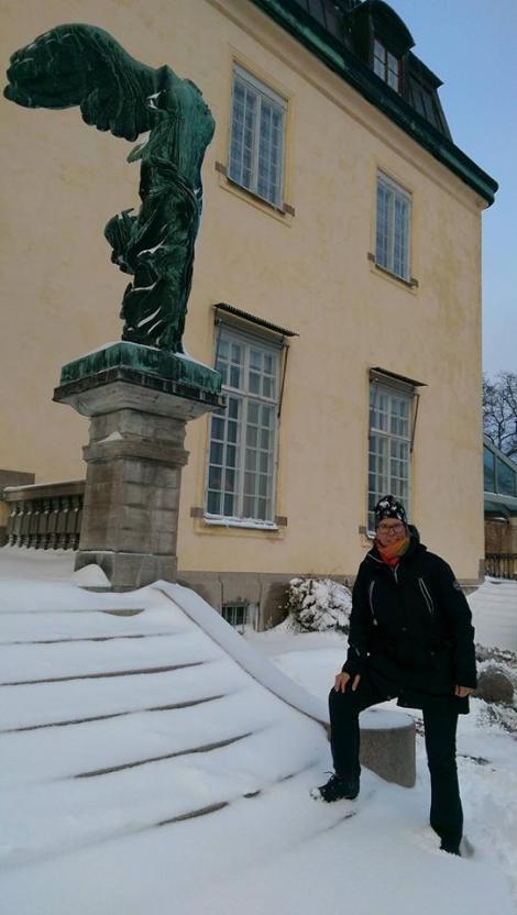 Birgitta Höglund på Waldemarsudde