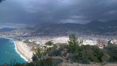 Utsikt över Alanya