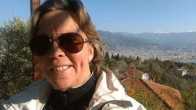 Selfie vid Borgen i Alanya...