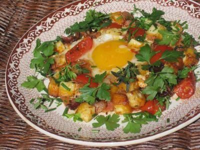 Bacon och ägg